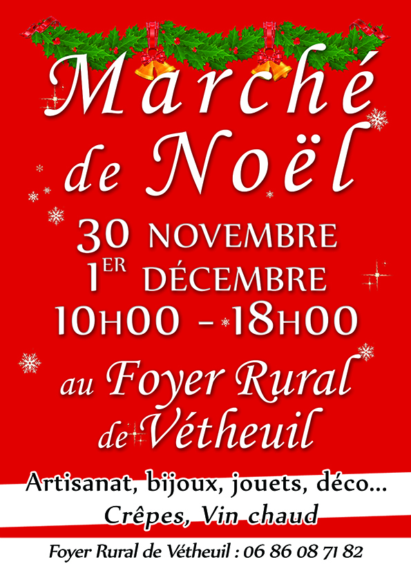 affiche marche noel foyer rural vetheuil 2019 A4 web